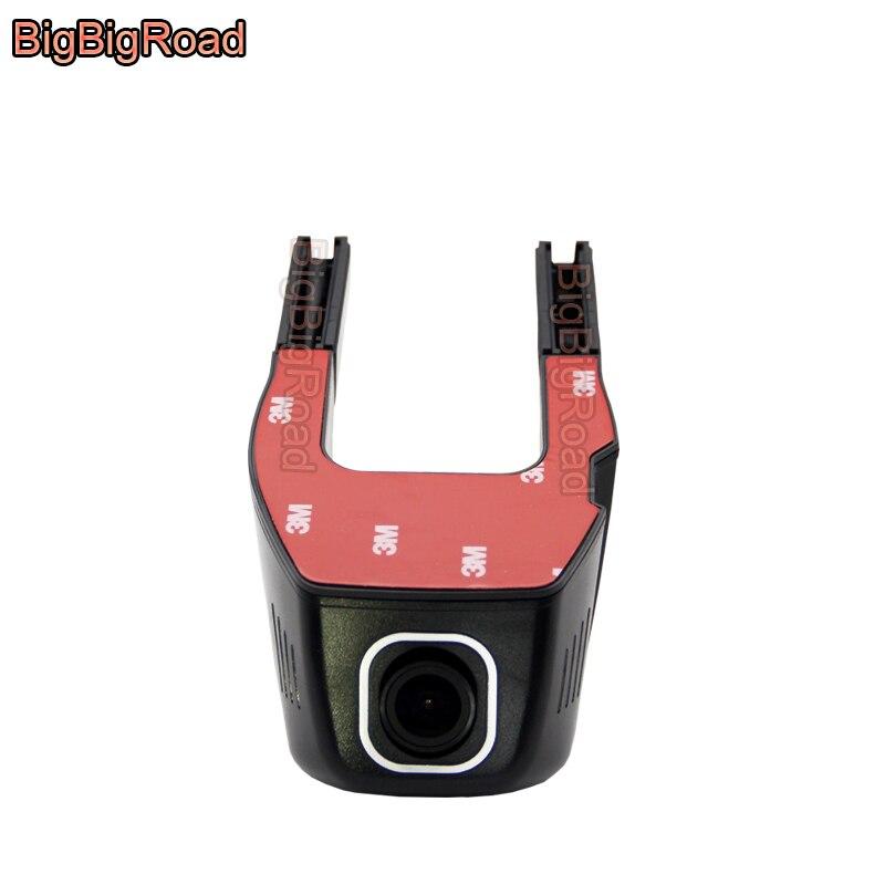 BigBigRoad voiture Wifi DVR pour Golf 4 5 6 Passat pick-up double caméra voiture enregistreur vidéo Dash Cam FHD 1080 P