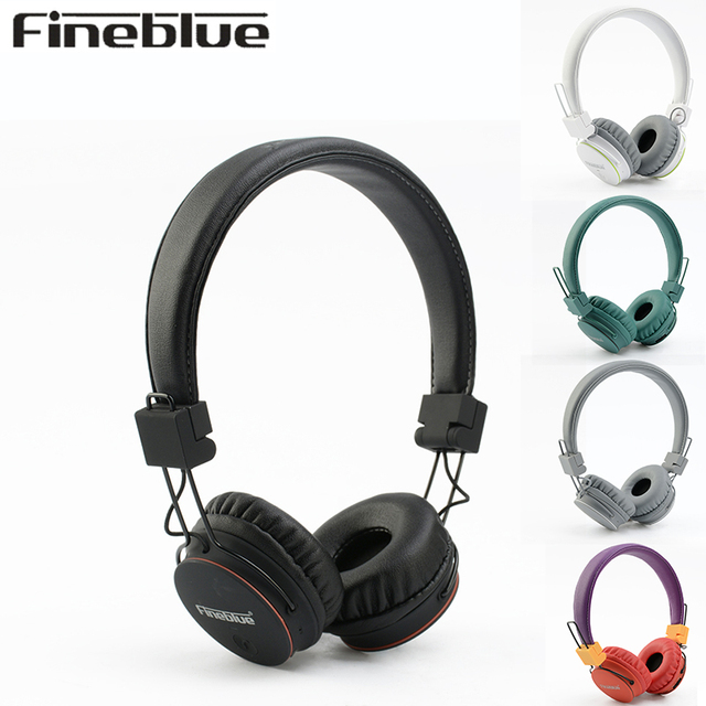 FINEBLUE FR-7S Wireless headphone bluetooth earphone gaming for computer hifi stereo music headset with mic