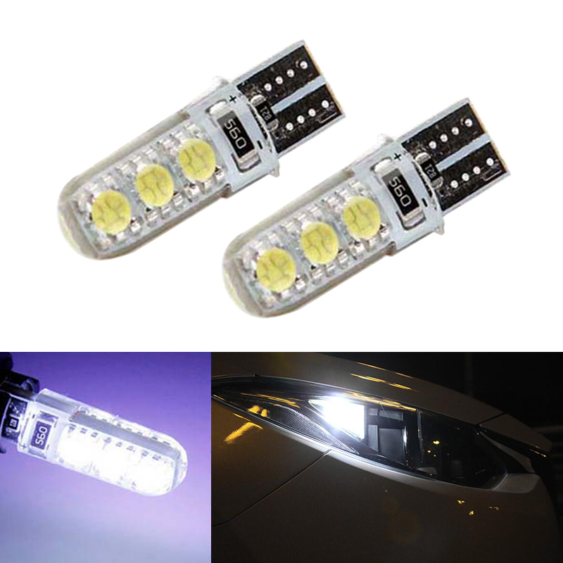 2x T10 W5W Samsung Car LED Wedge Light For <font><b>Lada</b></font> Granta Vaz Kalina Priora Niva Samara 2 2110 Largus <font><b>2109</b></font> 2107 2106 4x4 2114 2112 image