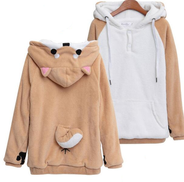 Anime Hooded Hoodies In Sweatshirts From Womens Clothing Accessories On Aliexpress