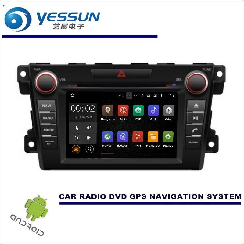 YESSUN Car Multimedia Navigation System For Mazda CX-7 2006~2012 / CD DVD  GPS Player Navi Radio