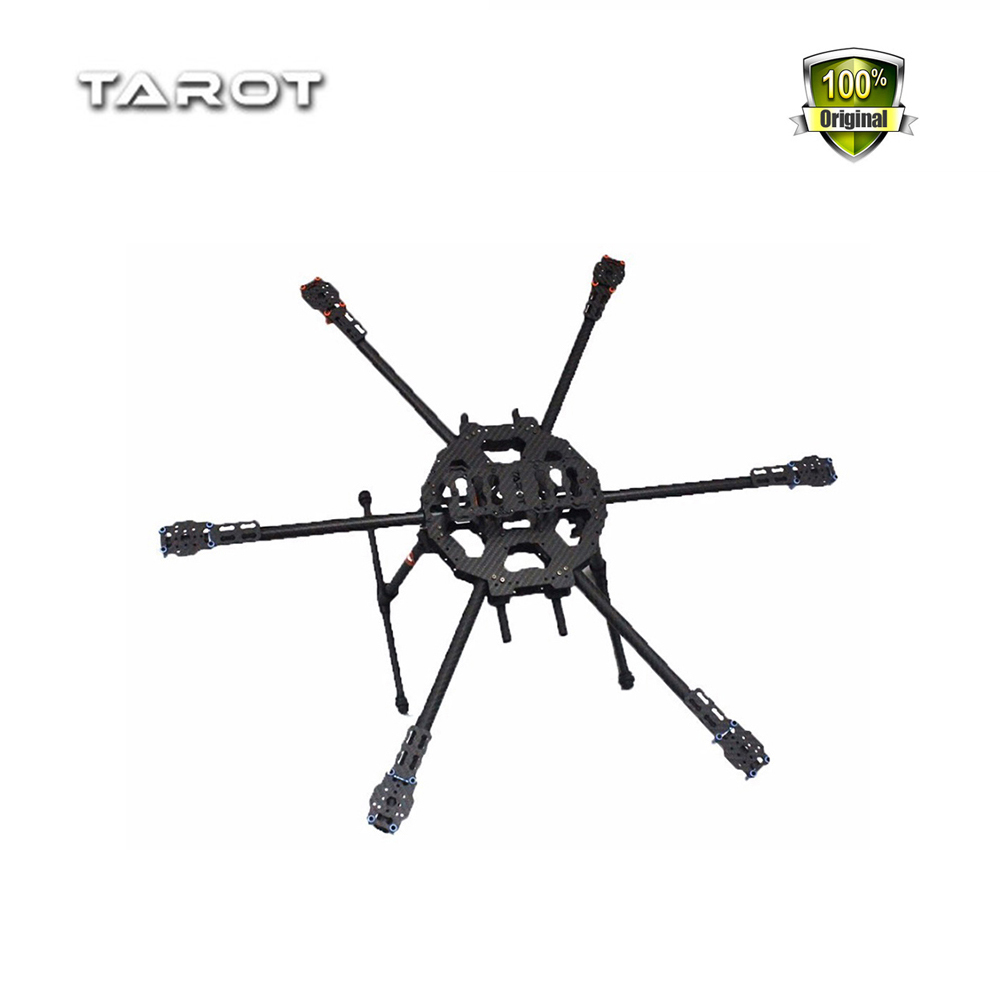 Weyland Tarot FY680 3K Pure Carbon Fiber 6 Axis Full Folding Hexacopter 680mm Aircraft Frame Kit TL68B01 FPV Aerial photo frame f04299 tarot fy680 tl6801 3k carbon fiber tube full folding hexacopter frame kit 680mm for diy fpv aircraft 6 axle rc drone fs