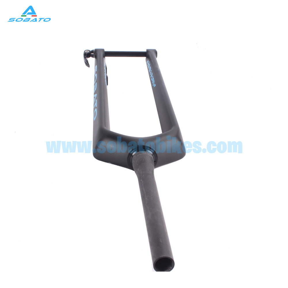 New arrival full carbon 27.5er plus fork carbon for mtb Rigid fork 29 /29er plus 1 1/8 ~1 1/2free shipping вилка велосипедная rockshox 30g 29 29 29er mtb 1 1 8 100 er 30g tk