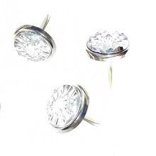 100 шт 12 мм прозрачный цветной Алмазный сверкающий кристалл Brads скрапбук ювелирный горный хрусталь открытки Свадьба День рождения Рождественский подарок