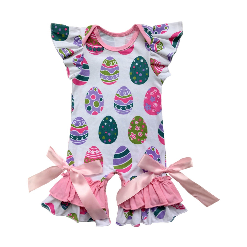 37457b62e3 Pink Donuts Spring Fashion Infant Clothes Matching Jumpsuit Baby shamrock  Romper baby gowns-in Rompers from Mother   Kids on Aliexpress.com