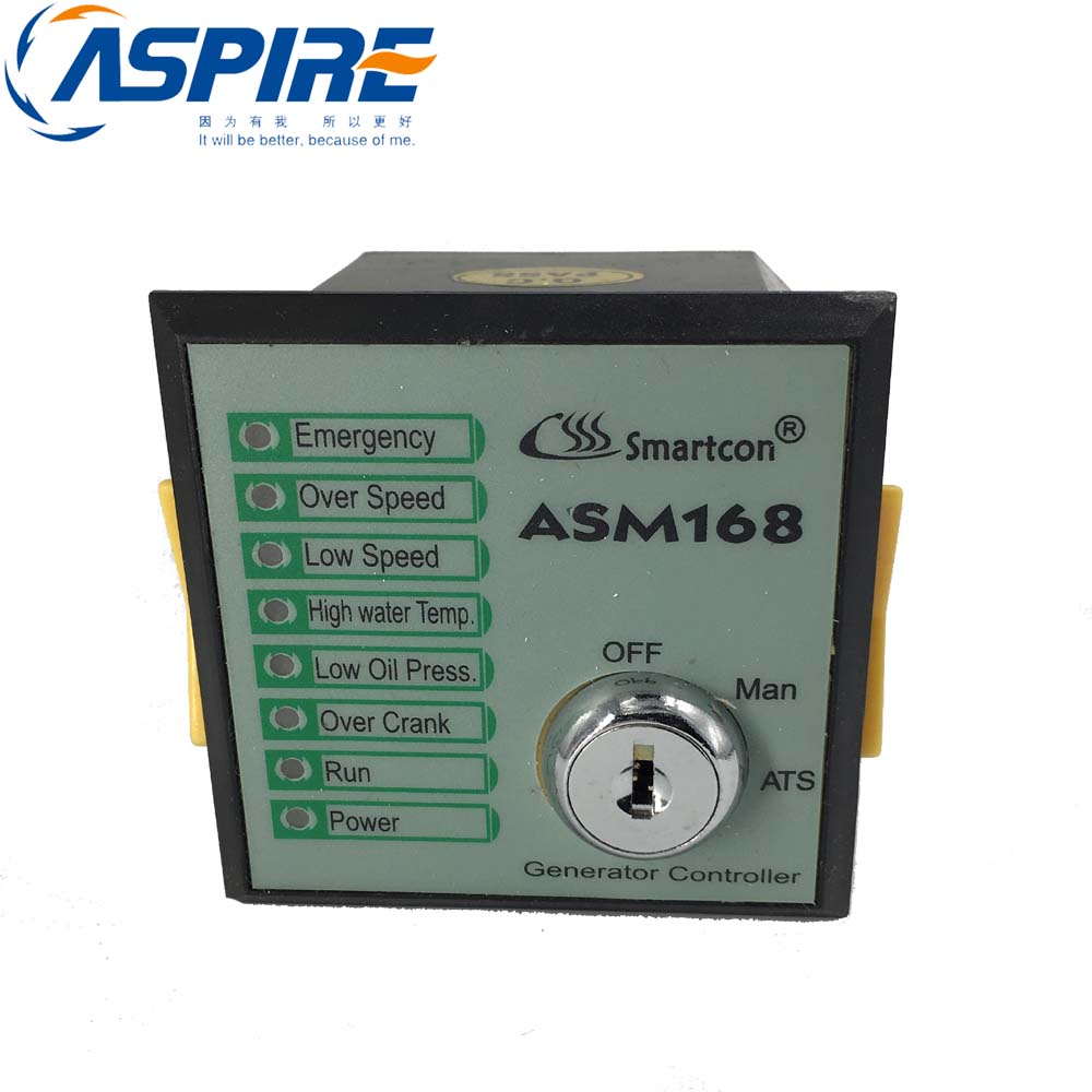 Key Start Genset Controller Module ASM168 replace for GTR168 or GTR-168 dse702 as genset controller electronic auto start controller module generator
