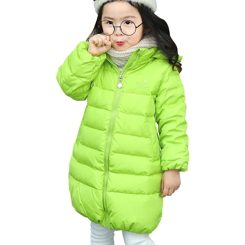 Girl's Winter Jacket Down Jackets Coats Warm Kids Baby Thick Duck Down Jacket Children Outerwears Cold Winter Clothing