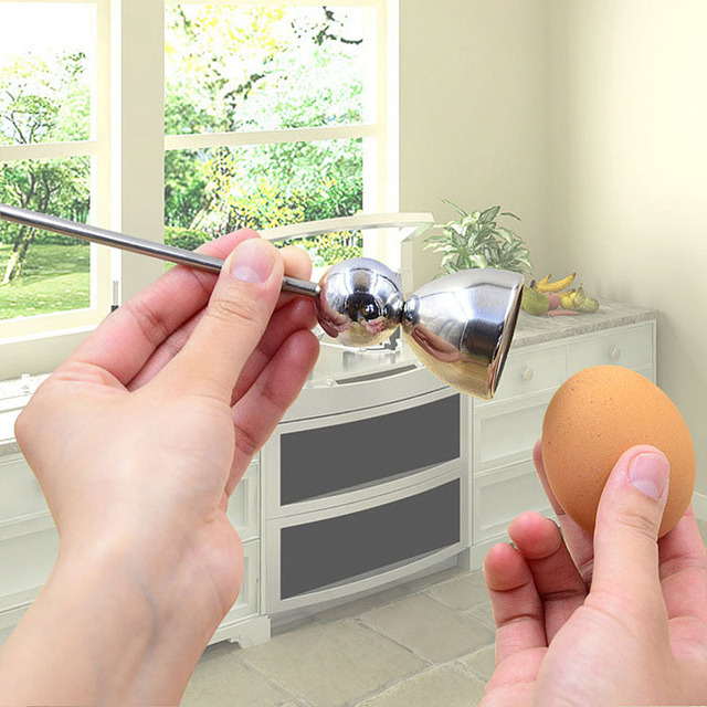 Stainless Steel kitchen tools Egg Opener
