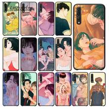 Yinuoda Romantic couple time Soft Silicone TPU Phone Cover for Haiwei P9 P 10 Plus P20 P20 Pro Honor 9 10 Cover(China)