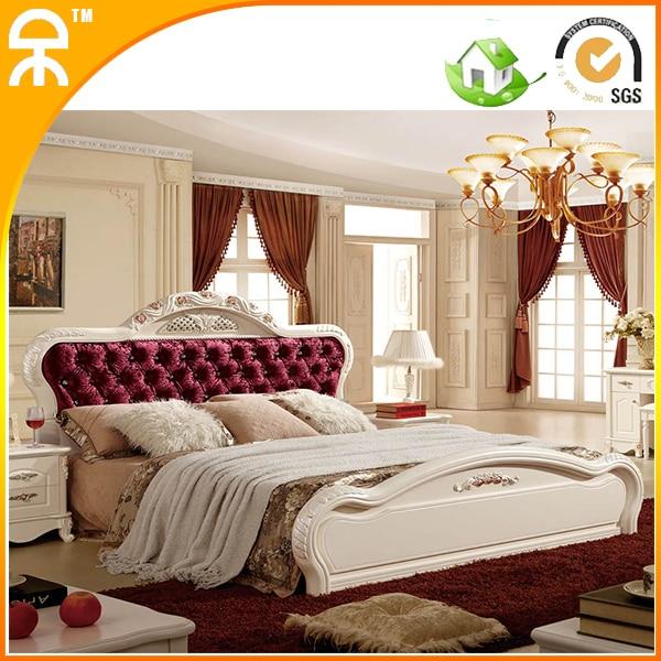2 pcs /lot latest designs fashion best royal solid wood bedroom ...