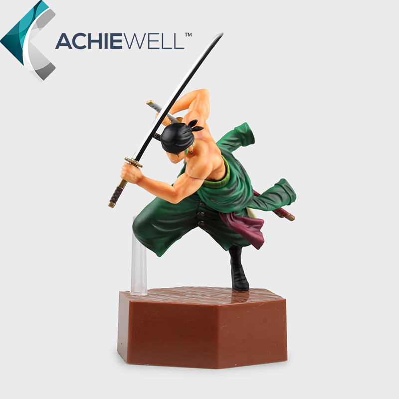 New Anime One Piece 4th Generation Roronoa Zoro Pvc 20cm Action Figure Cartoon Moel Fan Collection Plastic Toy For Boy Gift Doll brand new portrait of pirates one piece roronoa zoro 23cm pvc cool cartoon action figure model toy for gift kids free shipping