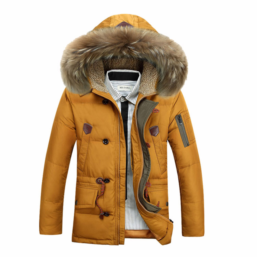 ФОТО Free Shipping AFS JEEP Winter Mens Cotton-padded jacket Men's Thicken Hooded Warm Jacket Casual Jacket 160