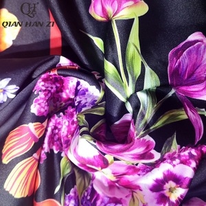 Image 5 - Qian Han Zi più nuovo Progettista della Pista di modo Maxi vestito delle Donne Manica Corta Con Scollo A V Incredibile Stampa Vintage Indie Folk lungo vestito