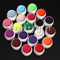 UV Nail Gel Polish UV&LED Shining Colorful 20 Colors 6ml Long lasting soak off cheap free shipping