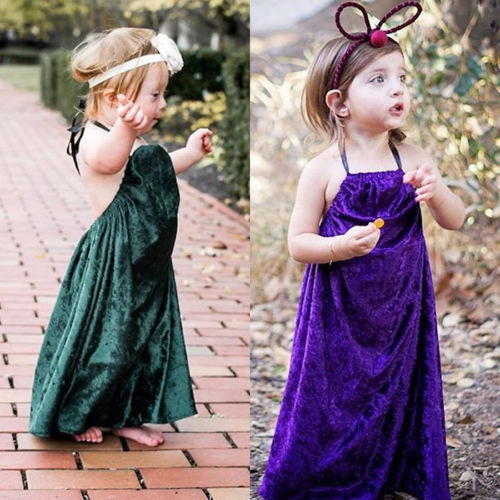 cffc056ec95d4 Aliexpress.com : Buy Velvet Baby Girls Sleeveless Top Kids Tutu Party  Wedding Dress Princess Dresses from Reliable Dresses suppliers on Steven  Baby ...