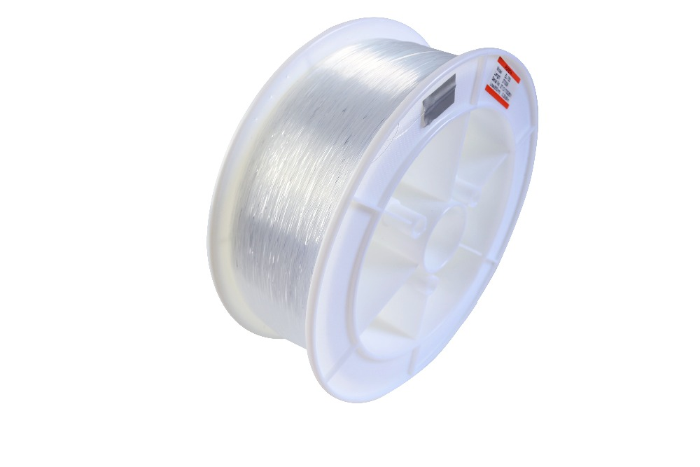 0.75mm diameter/2700m/roll PMMA fiber optic cable end glow for decoration lighting free shipping 100mx high quality side glow 1 5mm pmma fiber optic cable transparent solid core optic cable diameter express free shipping
