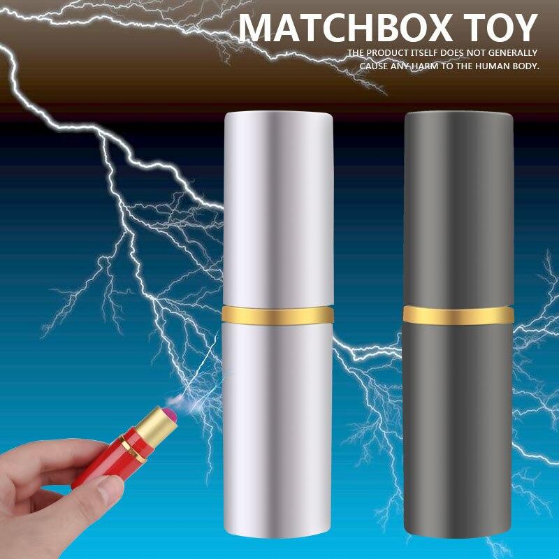 Пластиковая Красная игрушка с электрическим током, красная электрическая популяция, трюки, шалость, крутая первоклассная забавная Новинка