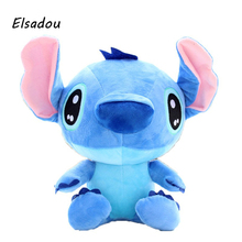 40cm Cute Cartoon Lilo and Stitch Plush Toys Doll Stuffed