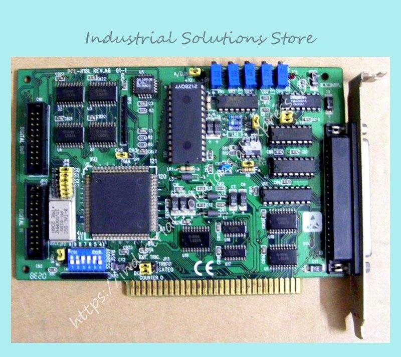 все цены на PCL-818L REV.A4 card 40/100KHz A/D 100% Tested Work Perfect в интернете