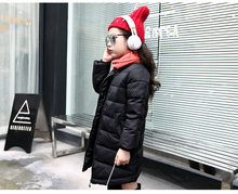 Good quality New Children Winter Jacket Girls WarmThickened Down Coat Kids Causal Outdoor Snow Coat Outerwear