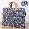13 14 15 4 15 6 Zipper Canvas Laptop Briefcase Waterproof Shockproof Laptop Bag For Macbook