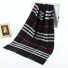 Winter Brand Tartan Acne Studios Men Business Pattern Scarf Casual Pattern Echarpe Hiver Male YJWD643
