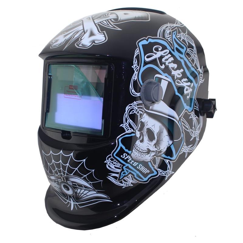 ФОТО Welding tools DIN9-DIN13 dark eara Solar auto darkening welding/grinding mask/helmets/MMA TIG MIG MAG welder cap/lens/eyes mask