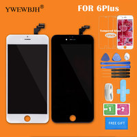YWEWBJH Grade AAA LCD Touch Screen For IPhone 6 Plus Display Assembly No Dead Pixel Replacement