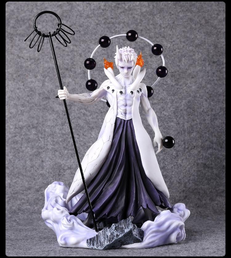 Naruto Shippuden TSUME Rikudousennin Uchiha Obito PVC Action Figure Collectible Model Toy 25cm KT3293