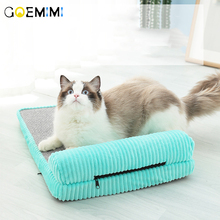 Cat Beds Mats Comfortable Corduroy Soft Pet Bed Kennel  Winter Warm Sleeping Bag Puppy Cushion Mat