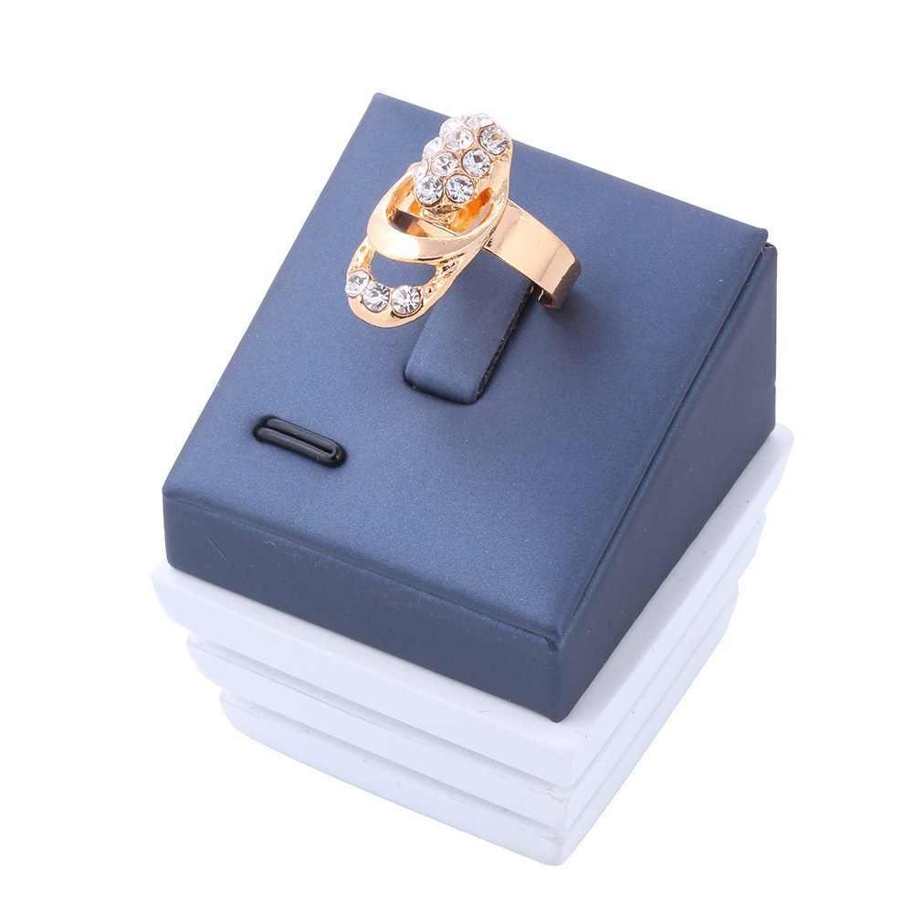 2018 neue Vintage Erklärung Hochzeit Schmuck Set für Frau Perle Perlen Halskette Ohrring Armband Ring Gold Farbe Party Geschenk
