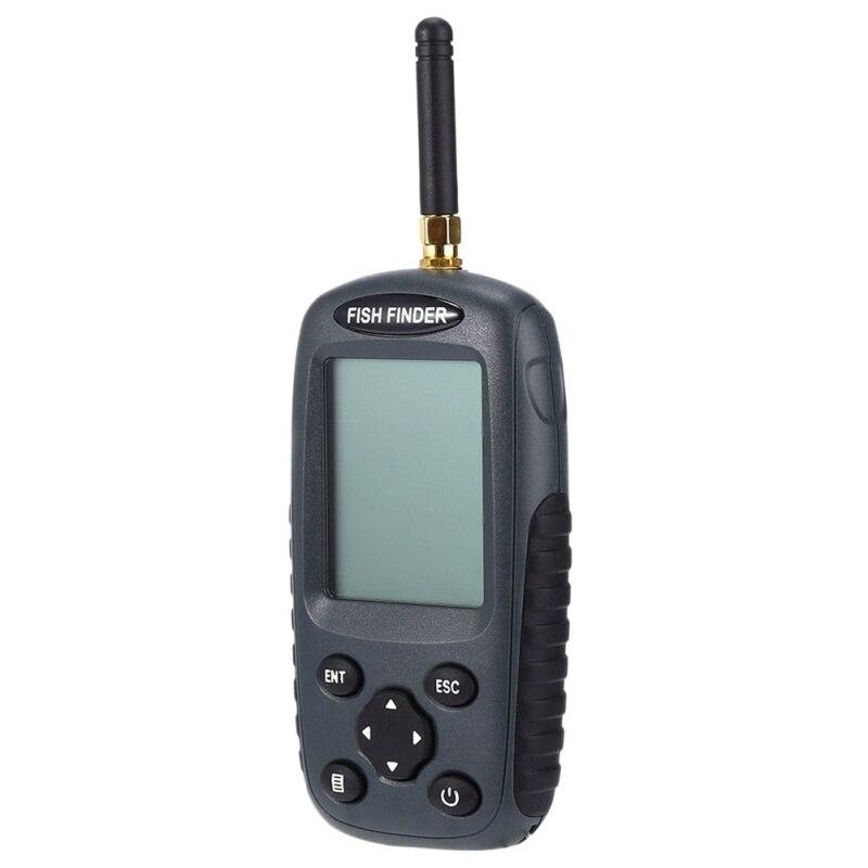 Nouvelle Marque Intelligente Détecteur De Poissons Portable Rechargeable Sonar Trouveur De Poissons Wireless125KHz Sonar Capteur Sans Fil Sondeur