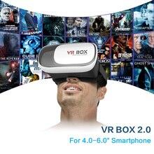 Vr коробка 3D гарнитура виртуальной реальности очки VR коробка 2.0 версии 3D glassse Google cardboard для смартфонов 3D просмотра