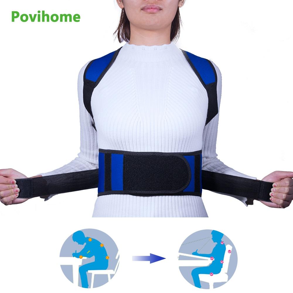 Unisex Chest Breast Support Belt Band Back Posture Corrector Brace Body Sculpting Strap Back Shoulder Vest Z80101 free size o x form legs posture corrector belt braces