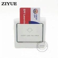 20 قطعة/الوحدة أي بطاقة مفتاح الطاقة توفير الطاقة التبديل للفندق مفتاح بطاقات المفاتيح الائتمان ورق بطاقة البنك بطاقة الأعمال