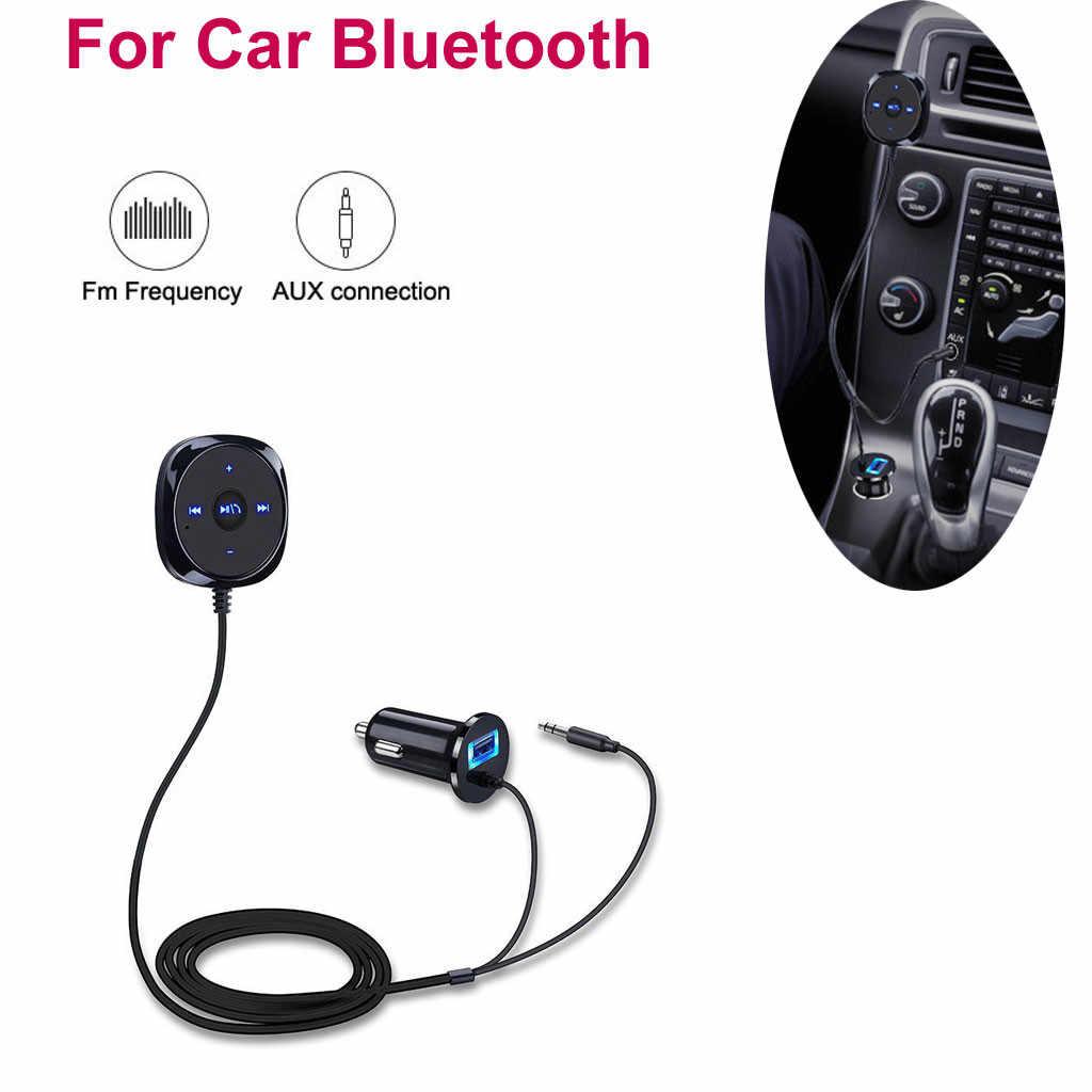 Xe mới USB sạc Xe Hơi Xe Bluetooth Âm Thanh MP3 Máy Nghe Nhạc FM Transmitter Rảnh Tay Trả Lời Sạc Không Dây BC20 19Apl6