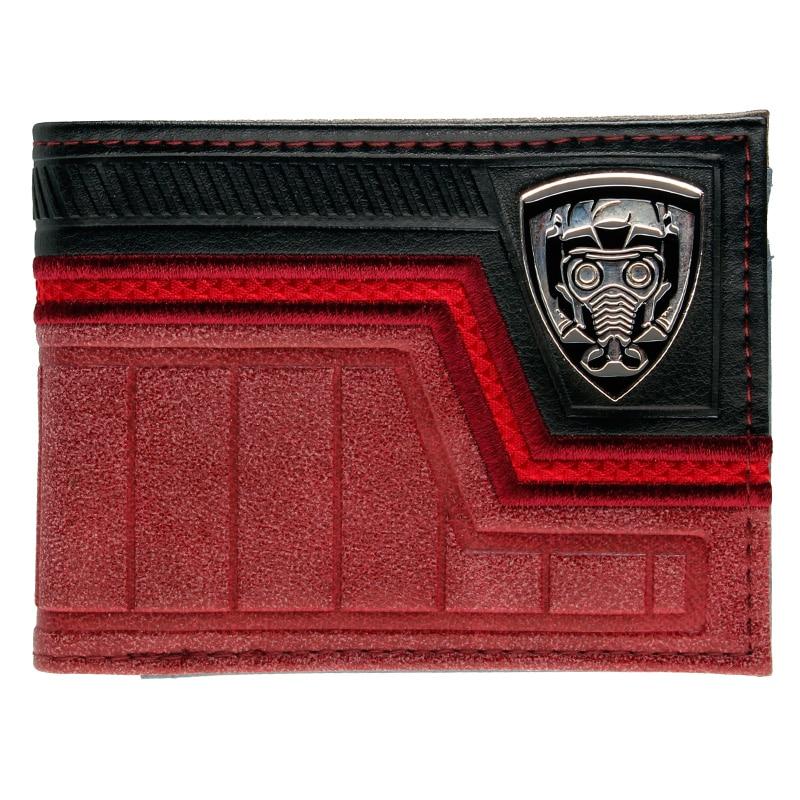 Guardians of the Galaxy Vol. 2 Bi-Fold Wallet DFT-3003 leeshang marvel captain america bi fold wallet dft 1007a for dft 1995 fold mini small wallet