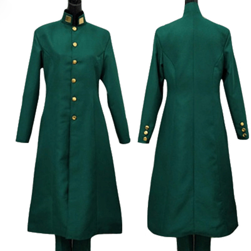 JoJo JoJo's Bizarre Adventure Cosplay Noriaki Kakyoin Cosplay Costume Anime Cosplay Outfits Suits Halloween Costumes