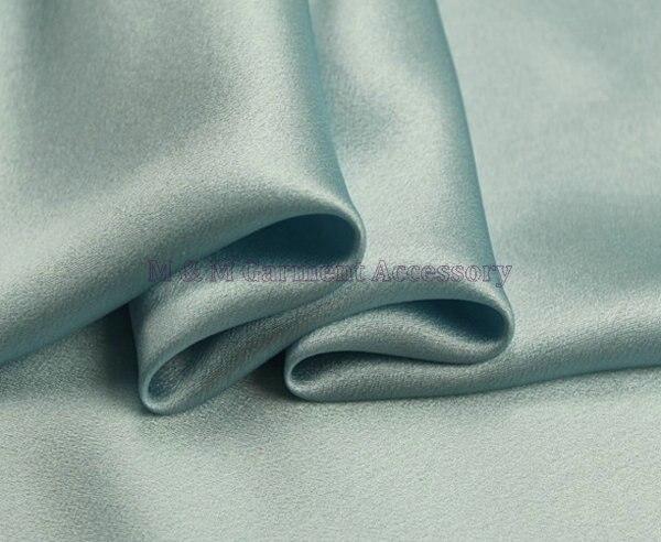 21 m/m momme georgette fabric elastic 98% silk+2% spandex georgette fabric 114cm