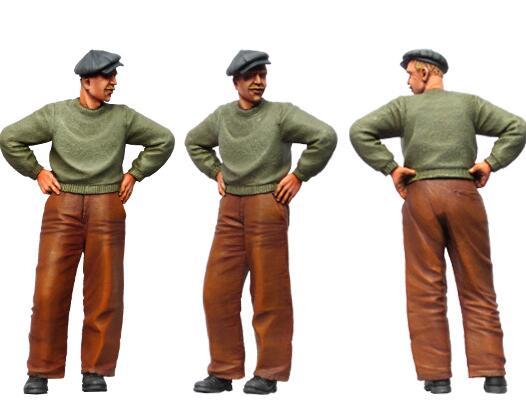 1/35 Resin Figure Civil Man 1pc Model Kits