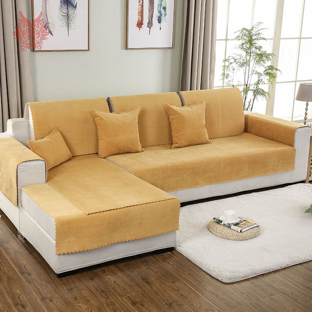 US $13.91 45% OFF|Red blue yellow waterproof sofa cover silica gel anti  slip covers fundas de sofa sectional couch covers fundas de sofa SP4978-in  ...