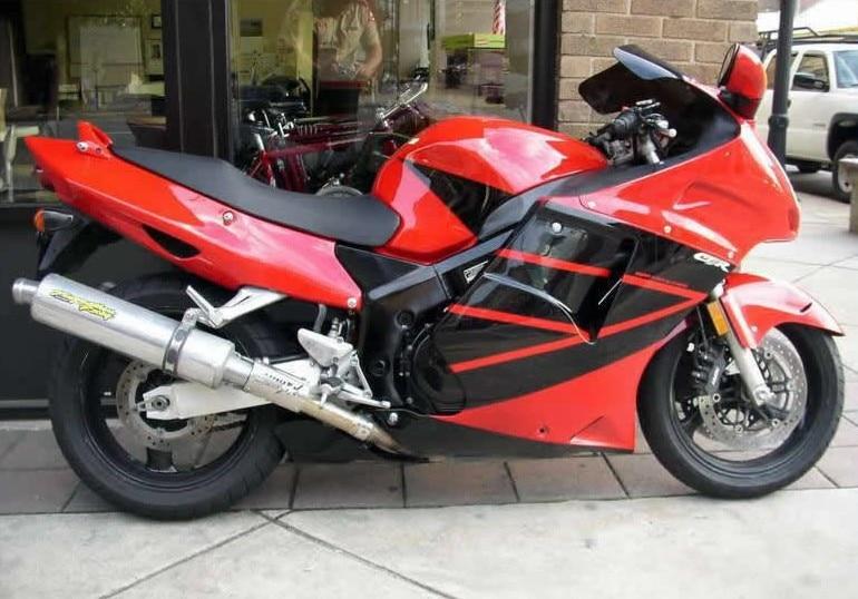 Hot SalesFor Honda CBR1100XX Blackbird 96 97 98 99 01 02 03 04 05 06 07 Red Black Motorcycle Fairing Kits Injection Molding