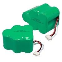 2pcs Lot 6V 3500mAh Replacement Battery For Ecovacs Deebot Deepoo 650 660 680 710 720 730