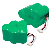 2pcs Lot 6V 3500mAh Replacement Battery For Ecovacs Deebot Deepoo 650 660 680 710 720 730