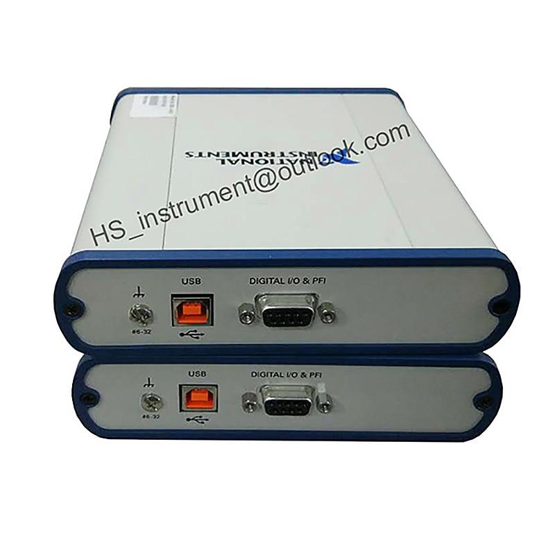 National Instruments USB-4431 high-accuracy data acquisition module USB-4431 2-BIT ANALOG I/O 102.4kS/s 10V USED 100% TESTED