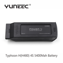 In Stock Yuneec Typhoon H H480 4S 5400Mah Battery RTF RC Drone with Camera Battery for Typhoon H Free Shipping