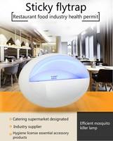Flytrap Light Restaurant with Sticky Capture Mosquito Light Hotel Food Flycatcher Supermarket Use Eliminate Fly Light
