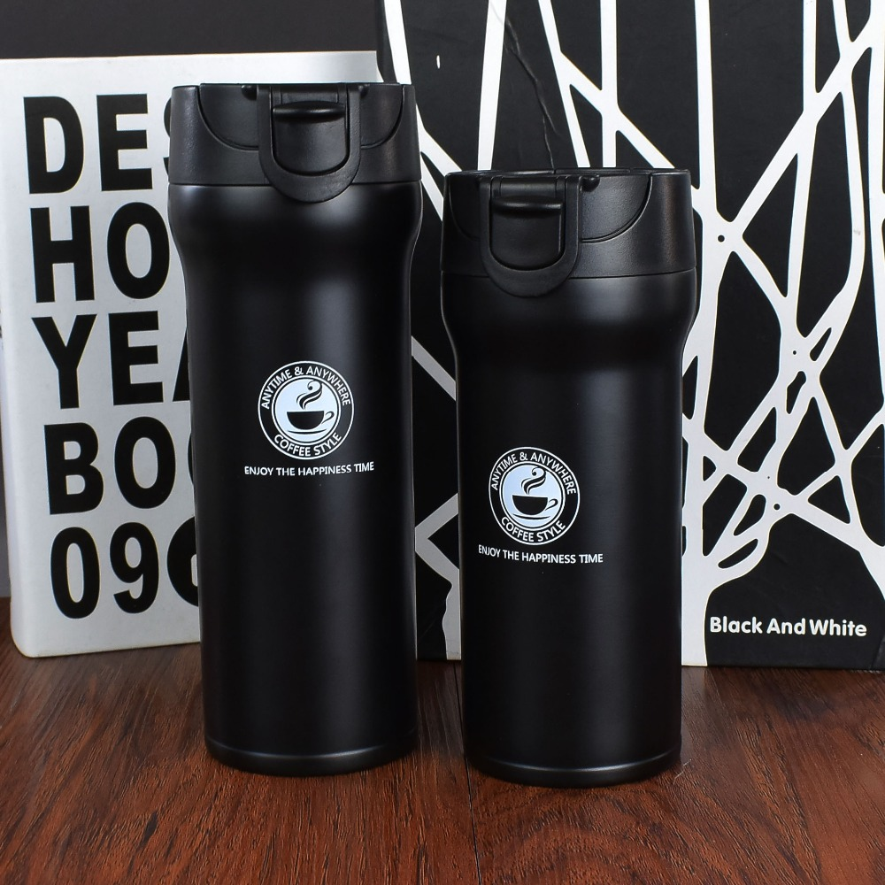 Hot Quality Double Wall Stainless Steel Vacuum Flasks 350ml 500ml Car Thermo Cup Coffee Tea Travel Hot Quality Double Wall Stainless Steel Vacuum Flasks 350ml 500ml Car Thermo Cup Coffee Tea Travel Mug Thermol Bottle Thermocup