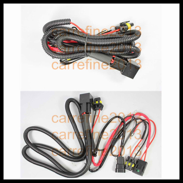 hid xenon bulb extension cable xenon hid conversion kit relay wiring rh aliexpress com Wiring Harness Conversion for Appliances Engine Wiring Harness Conversion Kits