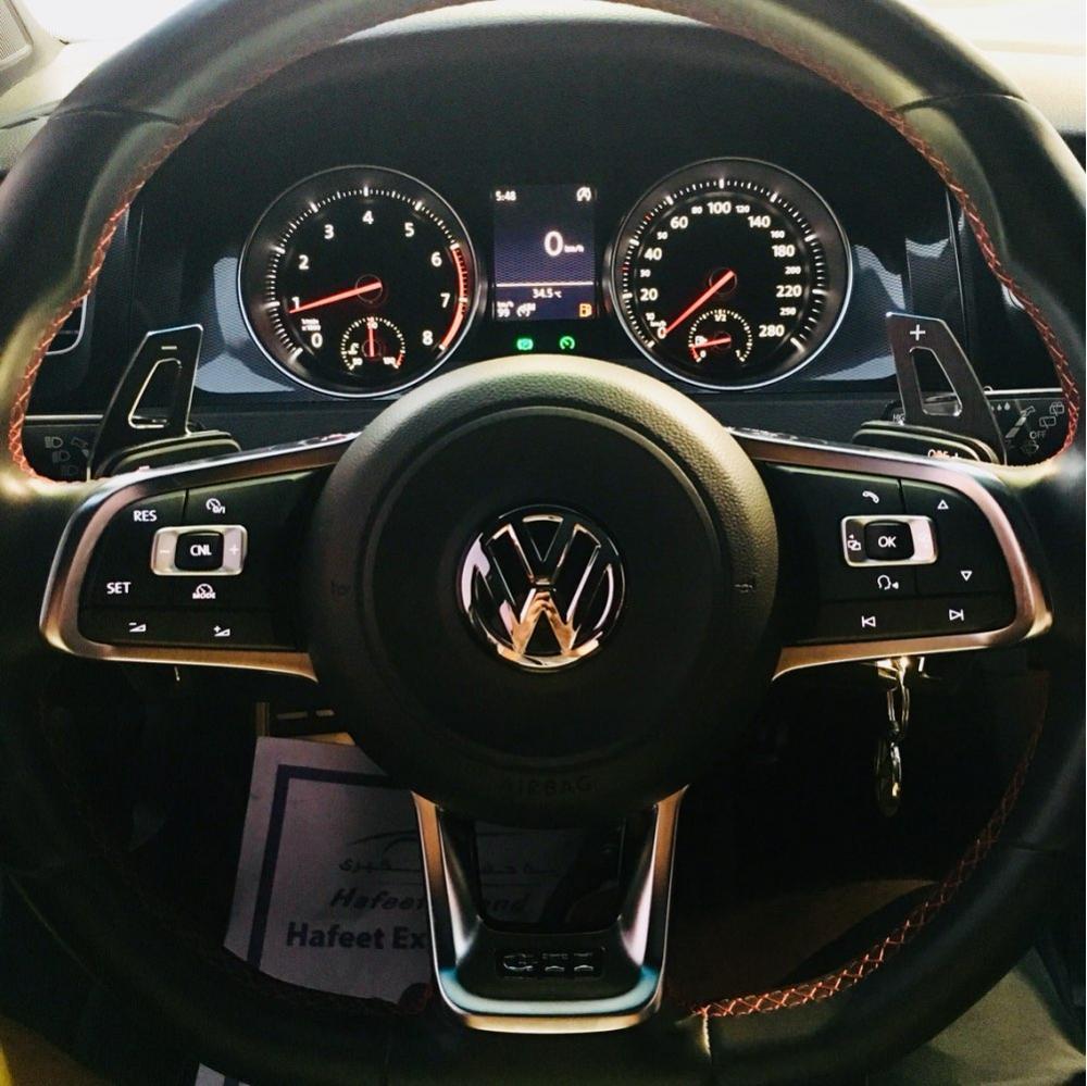 For Volkswagen VW Golf MK6 GTI Jetta MK5 Passat B6 Touran CC Scirocco R36 Steering Wheel Change Aluminum Extension Paddle Shift